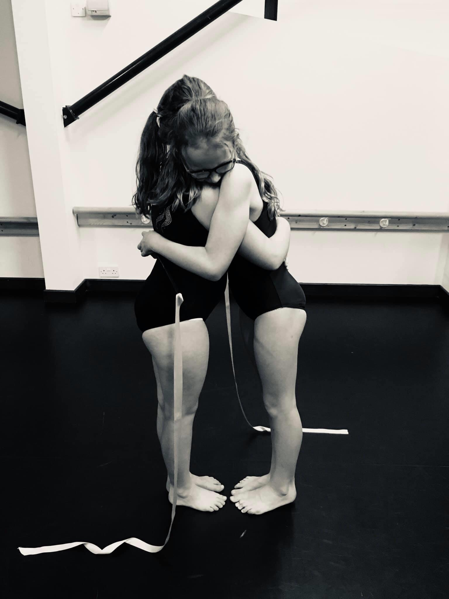 ballet girls embraced