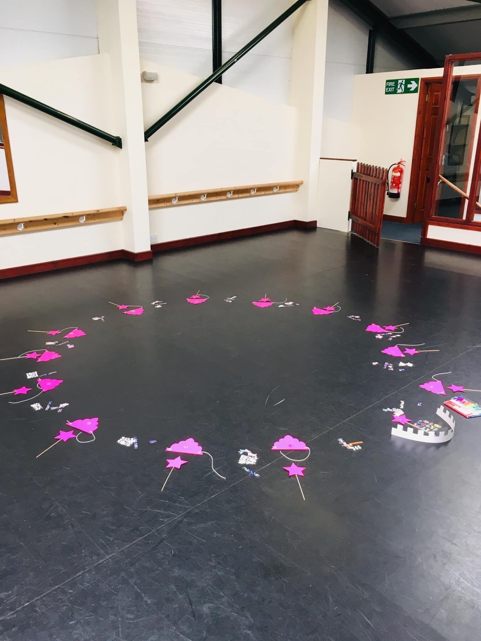 circle of ballet props