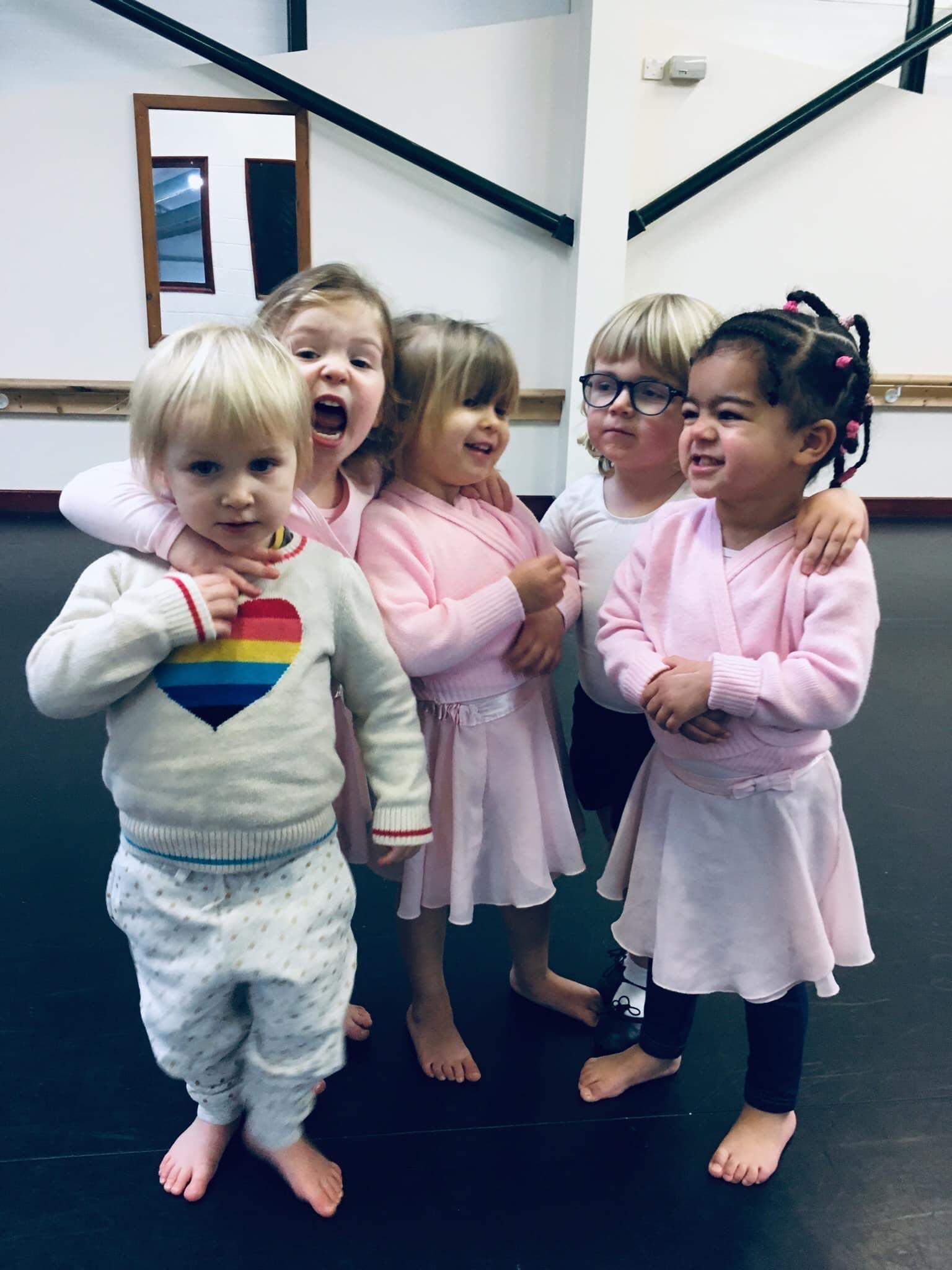 ballet class group 2